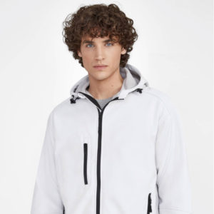 Chaqueta para hombre softshell con capucha Replay MEn